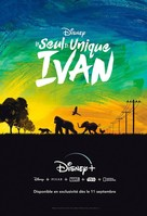 The One and Only Ivan - French Video on demand movie cover (xs thumbnail)