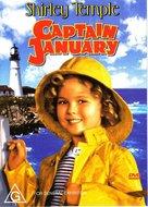Captain January - Australian DVD cover (xs thumbnail)
