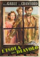 Strange Cargo - Italian Movie Poster (xs thumbnail)