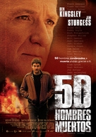 Fifty Dead Men Walking - Spanish Movie Poster (xs thumbnail)