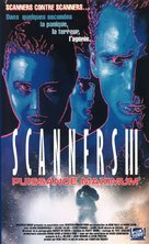Scanners III: The Takeover - French VHS cover (xs thumbnail)