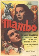 Mambo - Spanish Movie Poster (xs thumbnail)