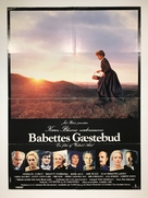 Babettes gæstebud - Danish Movie Poster (xs thumbnail)