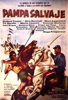 Savage Pampas - Argentinian Movie Poster (xs thumbnail)