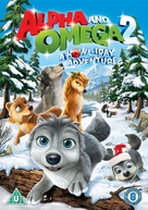 Alpha and Omega 2: A Howl-iday Adventure - British DVD movie cover (xs thumbnail)