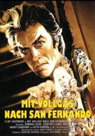 Any Which Way You Can - German Movie Poster (xs thumbnail)