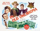In Old Oklahoma - Theatrical poster (xs thumbnail)