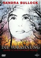 Premonition - German DVD cover (xs thumbnail)