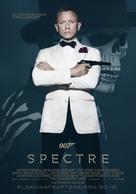 Spectre - Finnish Movie Poster (xs thumbnail)