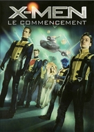 X-Men: First Class - French DVD movie cover (xs thumbnail)