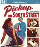 Pickup on South Street - British Blu-Ray movie cover (xs thumbnail)