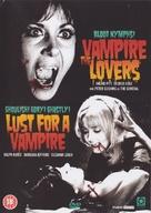 The Vampire Lovers - British DVD movie cover (xs thumbnail)