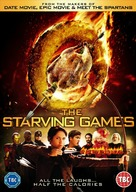 The Starving Games - British DVD movie cover (xs thumbnail)