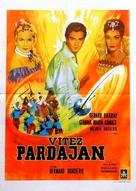 Le chevalier de Pardaillan - Yugoslav Movie Poster (xs thumbnail)