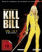 Kill Bill: Vol. 1 - German Blu-Ray cover (xs thumbnail)