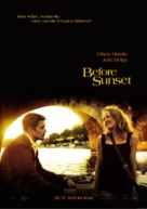 Before Sunset - German Movie Poster (xs thumbnail)