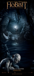 The Hobbit: An Unexpected Journey - Spanish Movie Poster (xs thumbnail)