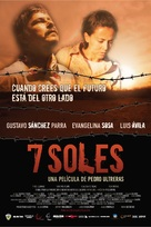 7 soles - Mexican Movie Poster (xs thumbnail)