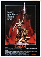 Conan The Barbarian - Yugoslav Movie Poster (xs thumbnail)