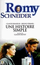 Une histoire simple - French VHS cover (xs thumbnail)