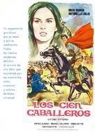 Cento cavalieri, I - Spanish Movie Poster (xs thumbnail)