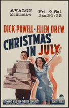 Christmas in July - Movie Poster (xs thumbnail)