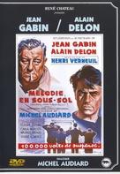 Mélodie en sous-sol - French DVD cover (xs thumbnail)