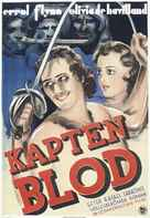 Captain Blood - Swedish Movie Poster (xs thumbnail)