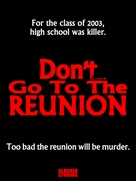 Don't Go to the Reunion - Movie Poster (xs thumbnail)