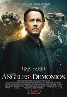 Angels & Demons - Spanish Movie Poster (xs thumbnail)