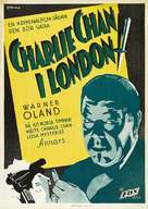 Charlie Chan in London - Swedish Movie Poster (xs thumbnail)