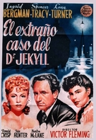 Dr. Jekyll and Mr. Hyde - Spanish Movie Poster (xs thumbnail)
