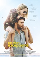 Gifted - Spanish Movie Poster (xs thumbnail)