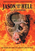 Jason Goes to Hell: The Final Friday - German DVD movie cover (xs thumbnail)