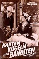 Plainsman and the Lady - German poster (xs thumbnail)