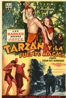Tarzan's Magic Fountain - Spanish Movie Poster (xs thumbnail)