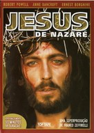 """Jesus of Nazareth"" - Portuguese DVD movie cover (xs thumbnail)"