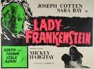 La figlia di Frankenstein - British Movie Poster (xs thumbnail)