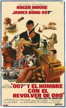 The Man With The Golden Gun - Argentinian Movie Poster (xs thumbnail)
