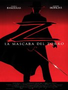 The Mask Of Zorro - Spanish Movie Poster (xs thumbnail)