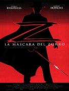 The Mask Of Zorro - Spanish Movie Poster (xs thumbnail)