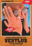 The Conversation - Estonian Movie Poster (xs thumbnail)