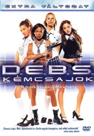 DEBS - Hungarian DVD movie cover (xs thumbnail)