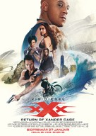 xXx: Return of Xander Cage - Swedish Movie Poster (xs thumbnail)