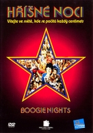 Boogie Nights - Czech DVD movie cover (xs thumbnail)