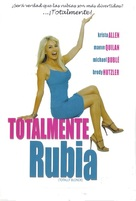 Totally Blonde - Mexican Movie Cover (xs thumbnail)