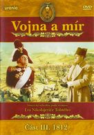 Voyna i mir III: 1812 god - Czech DVD cover (xs thumbnail)