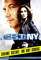"""CSI: NY"" - DVD movie cover (xs thumbnail)"