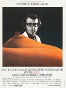 Everything You Always Wanted to Know About Sex * But Were Afraid to Ask - French Movie Poster (xs thumbnail)
