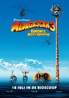 Madagascar 3: Europe's Most Wanted - Dutch Movie Poster (xs thumbnail)
